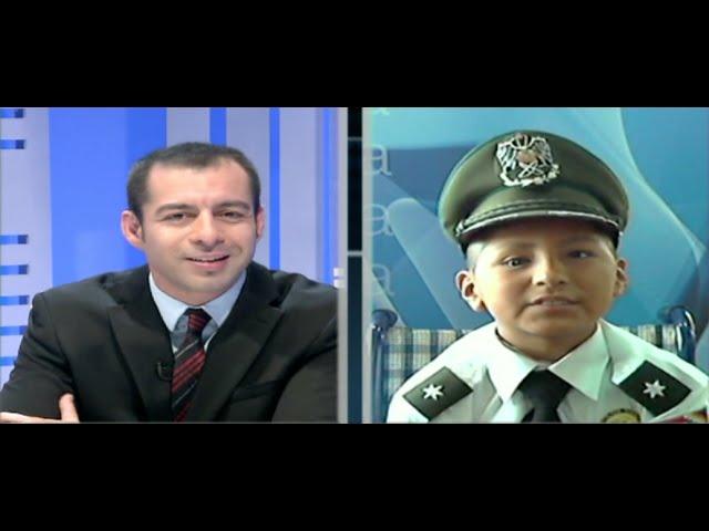 El policía más pequeño del mundo
