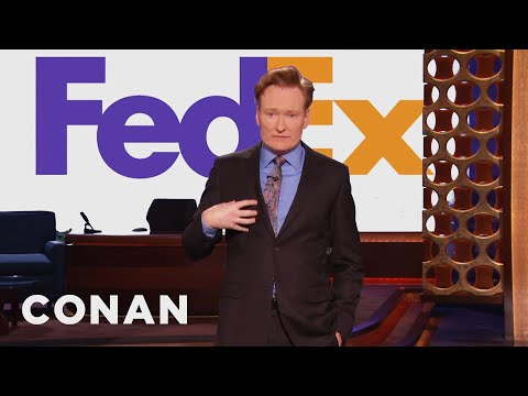 Conan FEDEX Loves FEDEX The New FEDEX