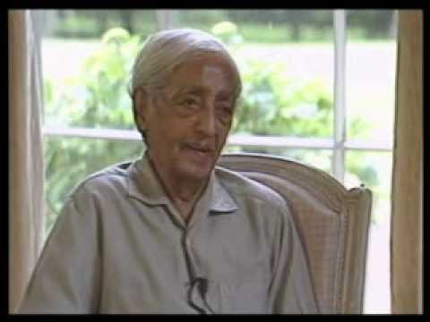J. Krishnamurti - Brockwood Park 1984 - Conversation - Can Fear Be Completely Wiped Away? video