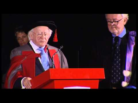 Michael D Higgins, President of Ireland