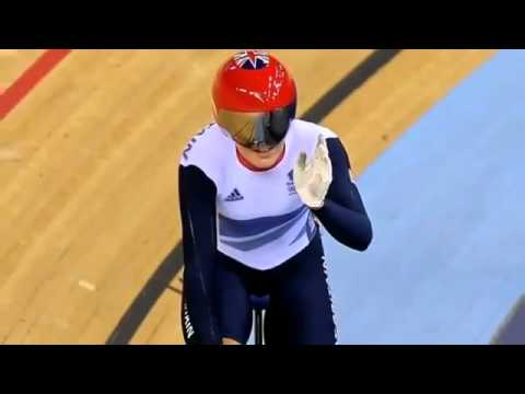 Victoria Pendleton Wins Olympic Gold in Womens Keirin at London 2012
