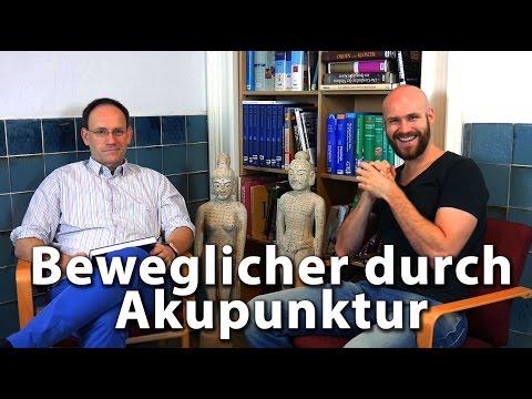 Beweglicher durch Akupunktur? mit Dr. med. Achim Kürten