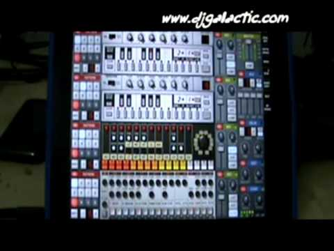 WILD NIGHTS (Techno) on Rebirth with Ipad2