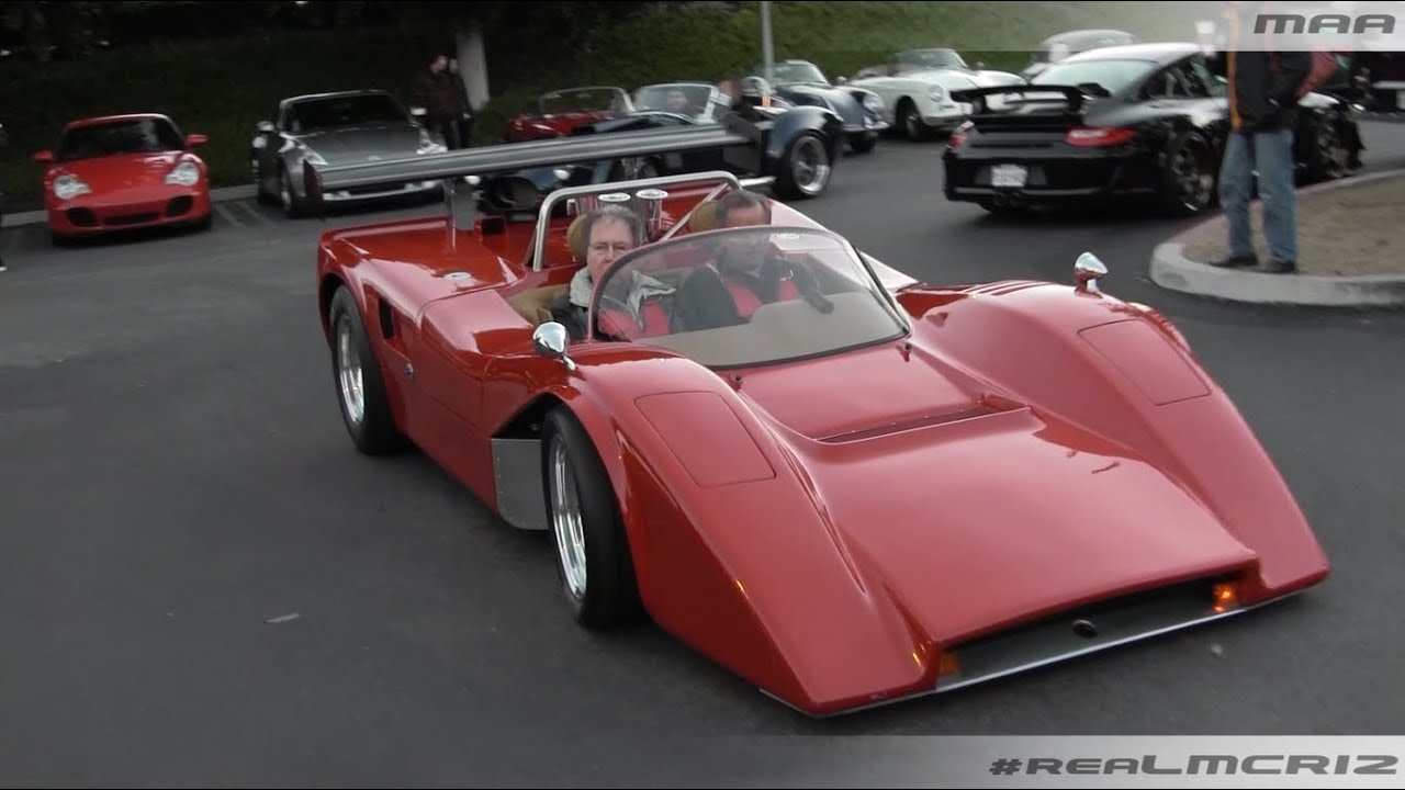 LOUD Manta Mirage Kit Car - Cars and Coffee Irvine - YouTube