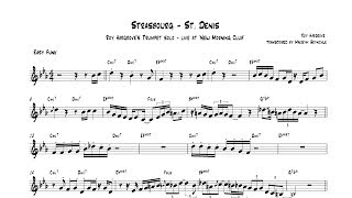 Roy Hargrove Strasbourg St Denis Live Trumpet Solo