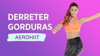 Aula de Ginástica - Derreta Gorduras com 20 min de AeroHiiT #7