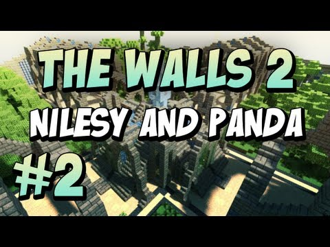 Minecraft: The Walls: Nilesy & Panda: #2!