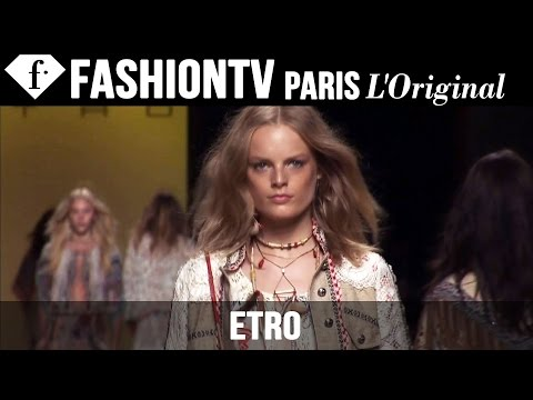 Etro Spring/Summer 2015 Runway Show   Milan Fashion Week MFW   FashionTV