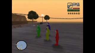 Gta San Andreas Teletubbies