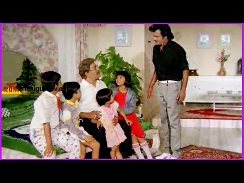 Children Planning For A Trip To Ooty - Raja Chinna Roja Telugu Movie -  Rajnikanth,gowthami video