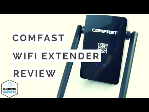 Comfast WiFi Range Extender Review - 300Mbps Wireless-N Repeater