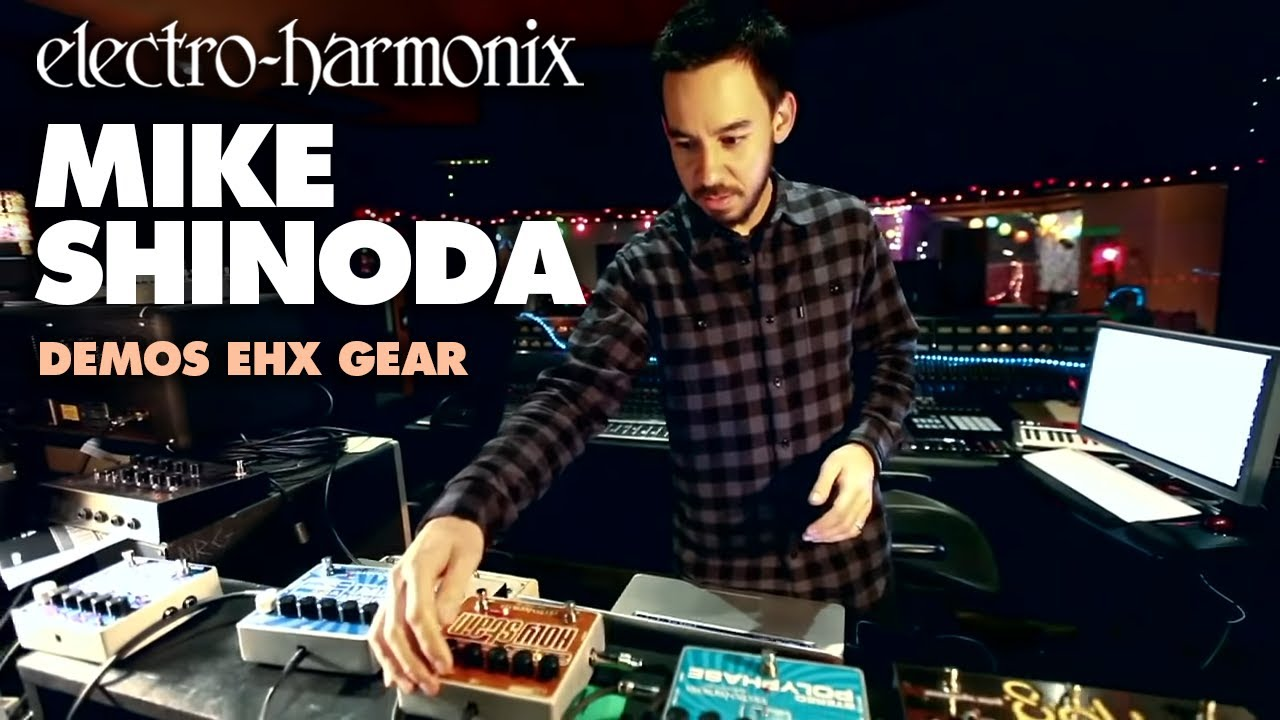 linkin park 39 s mike shinoda demos ehx gear youtube. Black Bedroom Furniture Sets. Home Design Ideas