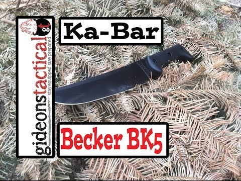 Ka-bar Becker BK5 Knife Review: Bust Out the Magnum