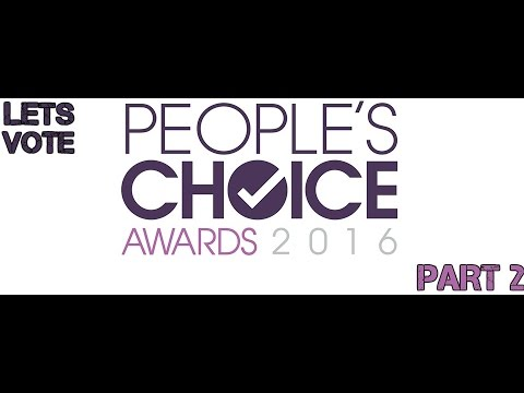 Lets Vote People S Choice Awards 2016 Category Tv