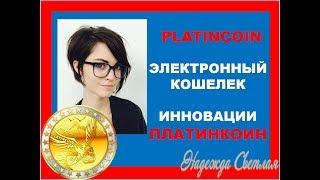 PLATINCOIN  Электронный Кошелек Платинкоин  Бизнес Идея