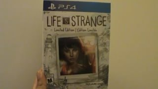 Unboxing (Abriendo) Life Is Strange Limited Edition PS4