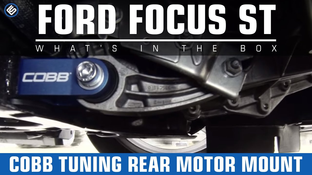 Cobb tuning rear motor mount on our white sheep focus st for Focus st rear motor mount