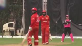 Misbah Ul Haq Blast 6 Sixes In 6 Balls  Hongkong T20 Blitz 2017