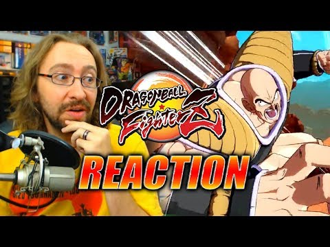 MAX REACTS: Nappa Gameplay Reveal - DragonBall FighterZ