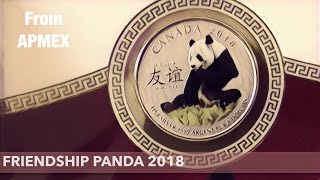 Canada Friendship Panda from APMEX is a sweet treat For Christmas