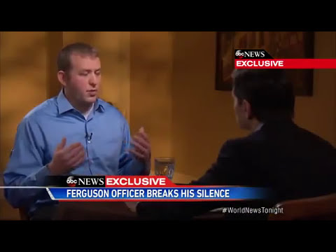 Darren Wilson Interview With George Stephanopoulos - FULL VIDEO (ABC NEWS)