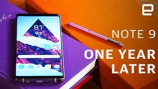 Samsung Galaxy Note 9: One Year Later