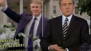 Dan Rather Interviews Donald Trump (& Melania) 1999 / Producer: Steve Glauber