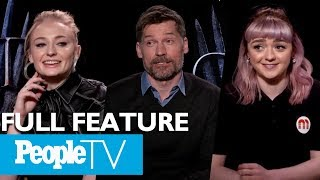 Game Of Thrones: The Cast On Their Favorite Scenes, First Days & More (FULL) | Entertainment Weekly