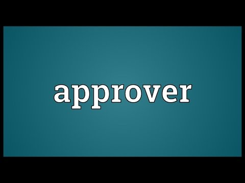 Header of approver