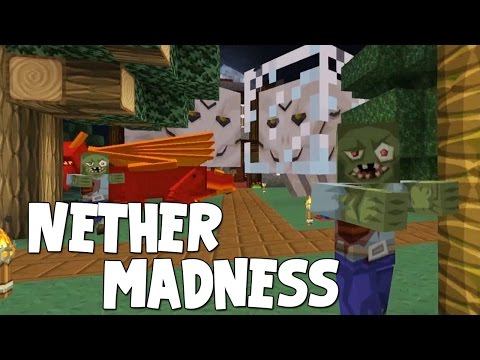 Minecraft - Attack Of The B Team - Nether Madness!! [25]