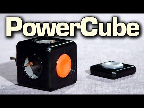 Allocacoc PowerCube – Дистанционная кнопка, USB-зарядка, удлиннитель – умные розетки