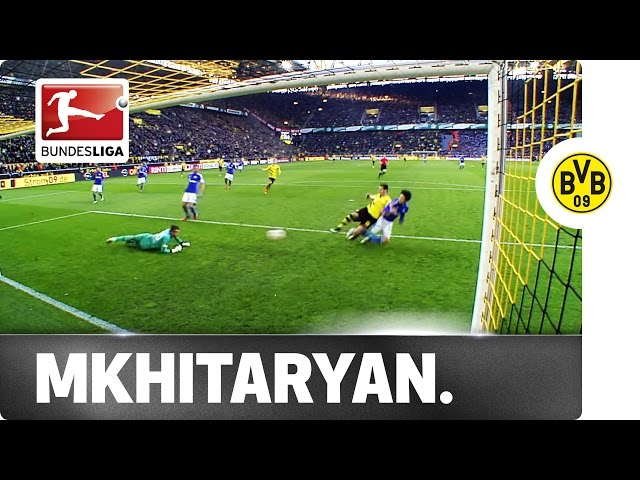 Mkhitaryan Finally Breaks His Duck With Derby Goal