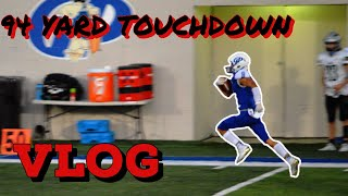 INSANE 94 YARD TOUCHDOWN (Friday night lights #1)