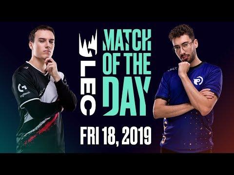 #LEC Match of the Day   G2 Esports vs. Origen   Friday 18th