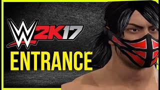 WWE 2K17- NJPW Ryota Naito Entrance