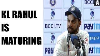 India Vs Australia : Virat Kohli feels KL Rahul has matured, will hit century soon | Oneindia News