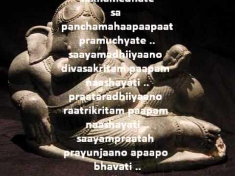 Shri Ganesh Atharvashirsha