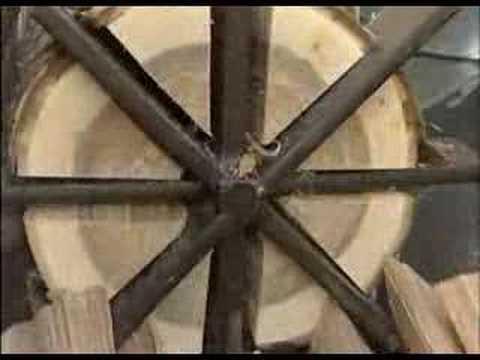 Колун для дров механический своими руками
