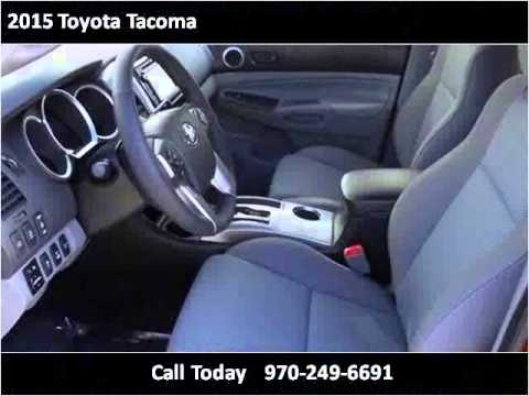 2015 Toyota Tacoma New Cars Montrose, Grand Junction, Teluri
