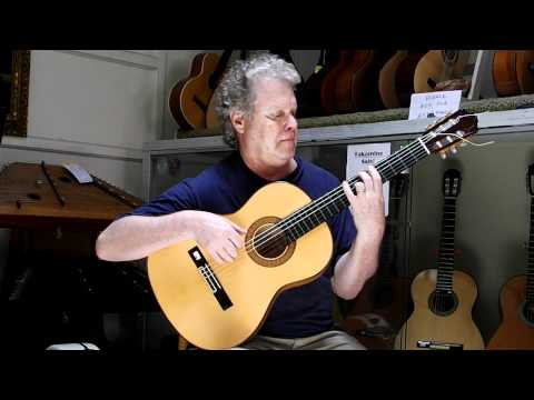 Almansa 449 Flamenco Guitar 1998