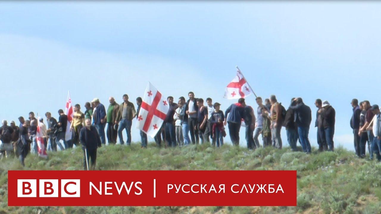 Протест на границе: Тбилиси и Баку не поделили монастырь