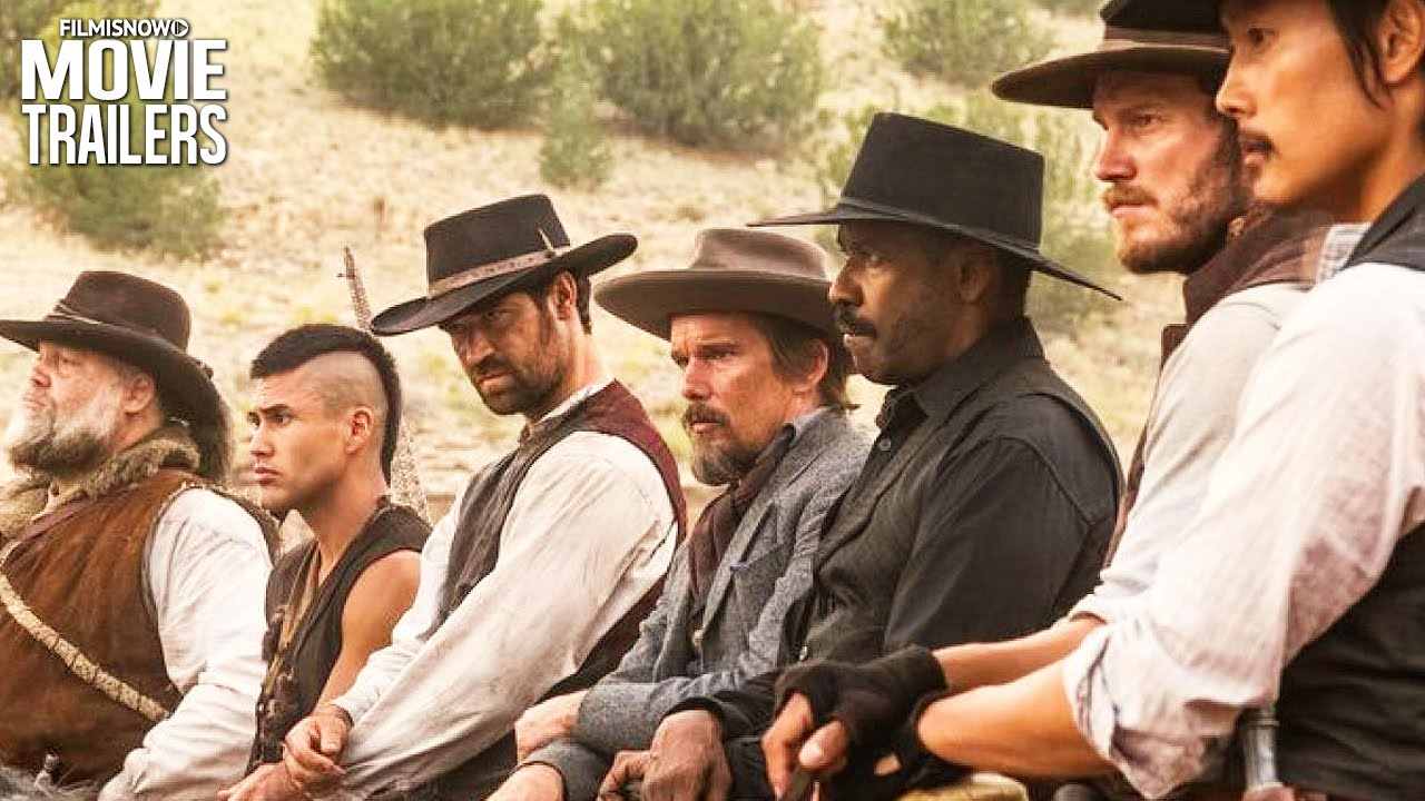 THE MAGNIFICENT SEVEN are fighting for more than money in the NEW Teaser Trailer [HD]