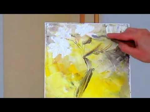 Как рисовать виноград акрилом