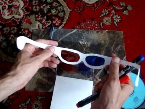 3d очки как сделать самому 886