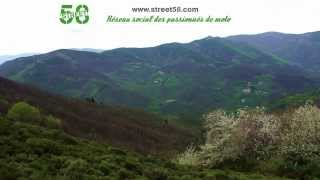 Roadbook moto Ardèche : Cascade du Ray Pic
