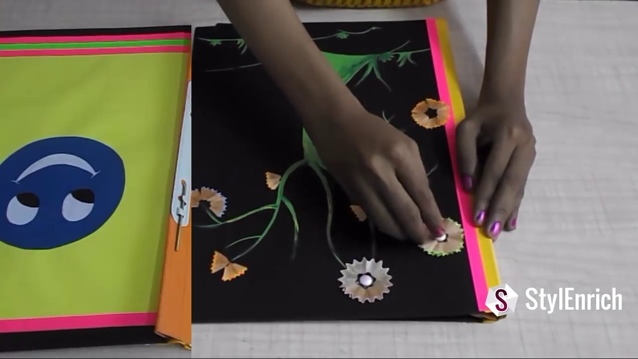 How to Make a Paper Folder photo