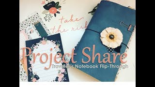 Michael's Recollection Traveler's Notebook - Project Share