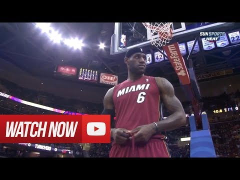 2014.03.18 - LeBron James Full Highlights at Cavaliers - 43 Pts, 3 Blocks, Clutch!