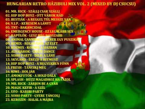 HUNGARIAN RETRO HÁZIBULI MIX VOL. 2 (MIXED BY DJ CSUCSU)  PROMO! klip izle