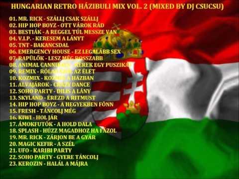 HUNGARIAN RETRO HÁZIBULI MIX VOL. 2 (MIXED BY DJ CSUCSU)  PROMO!